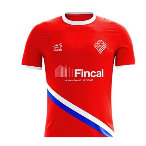 Camiseta roja de entrenamiento